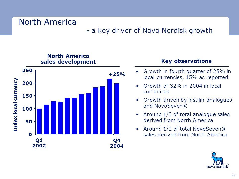 North America sales development