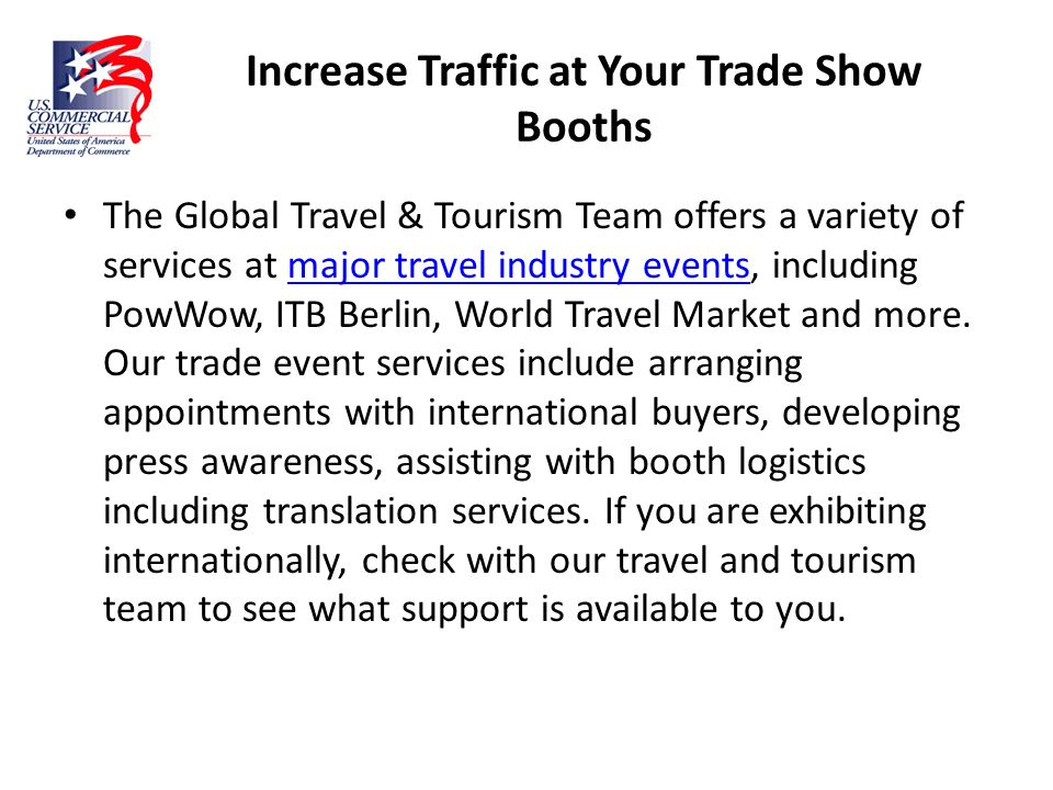 Increase Traffic at Your Trade Show Booths