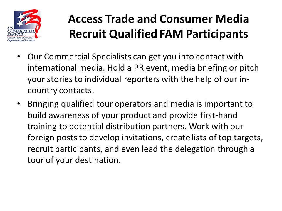 Access Trade and Consumer Media Recruit Qualified FAM Participants