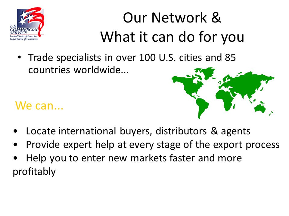 Our Network & What it can do for you