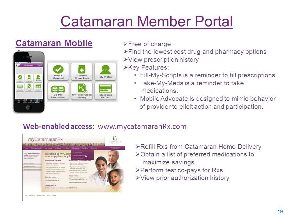 Catamaran Member Portal
