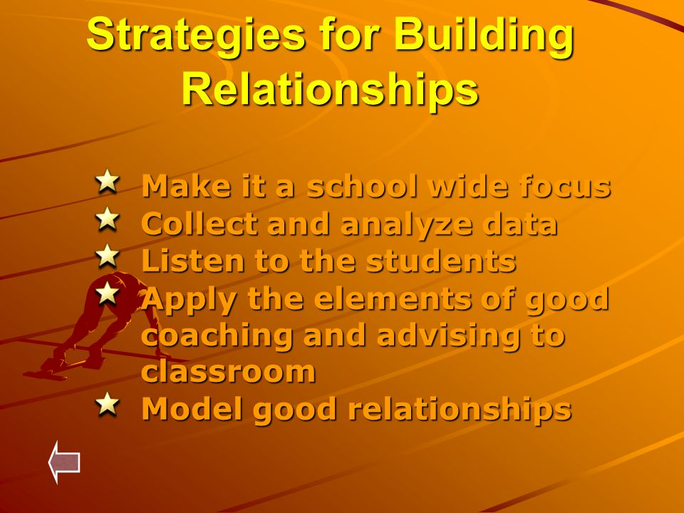 Strategies for Building Relationships