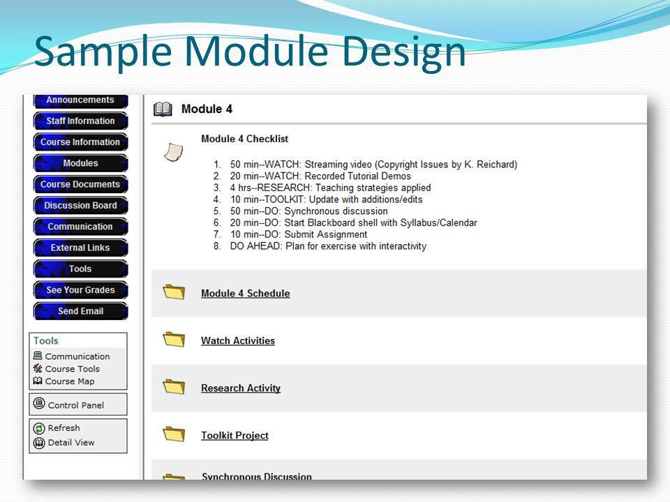 Sample Module Design
