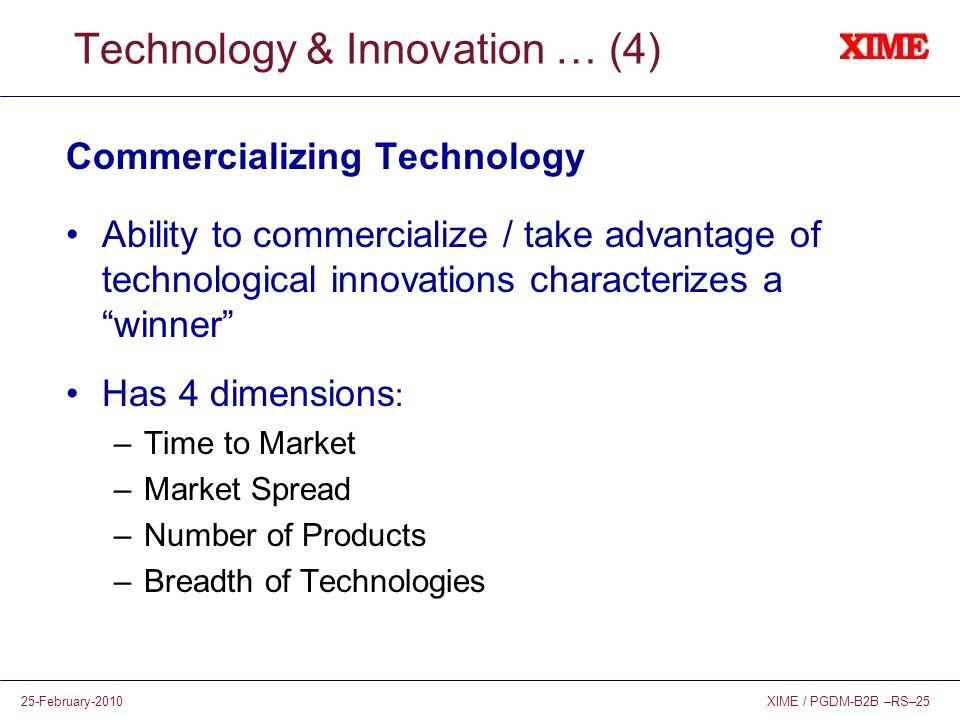 Technology & Innovation … (4)