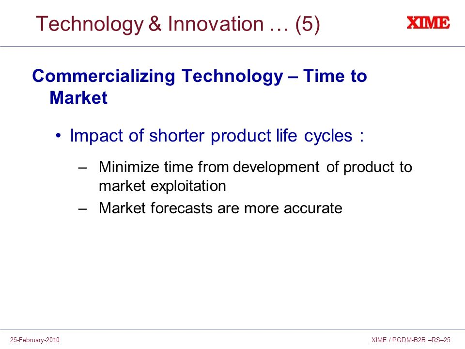 Technology & Innovation … (5)