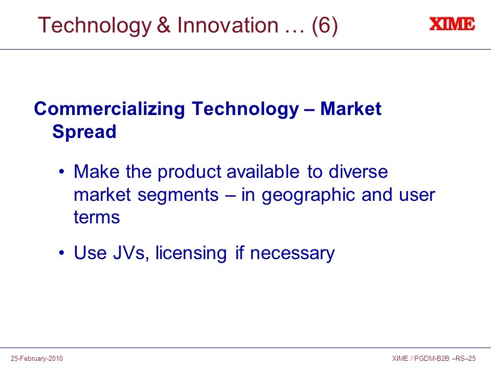 Technology & Innovation … (6)