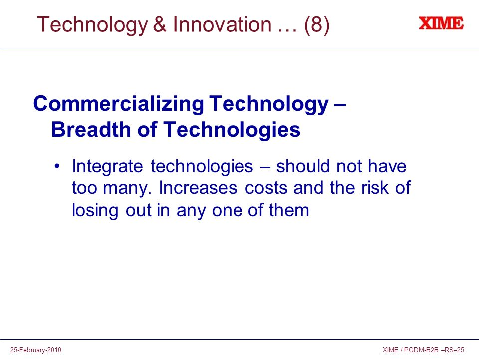 Technology & Innovation … (8)