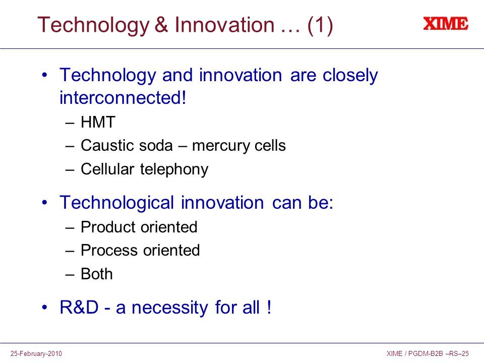Technology & Innovation … (1)