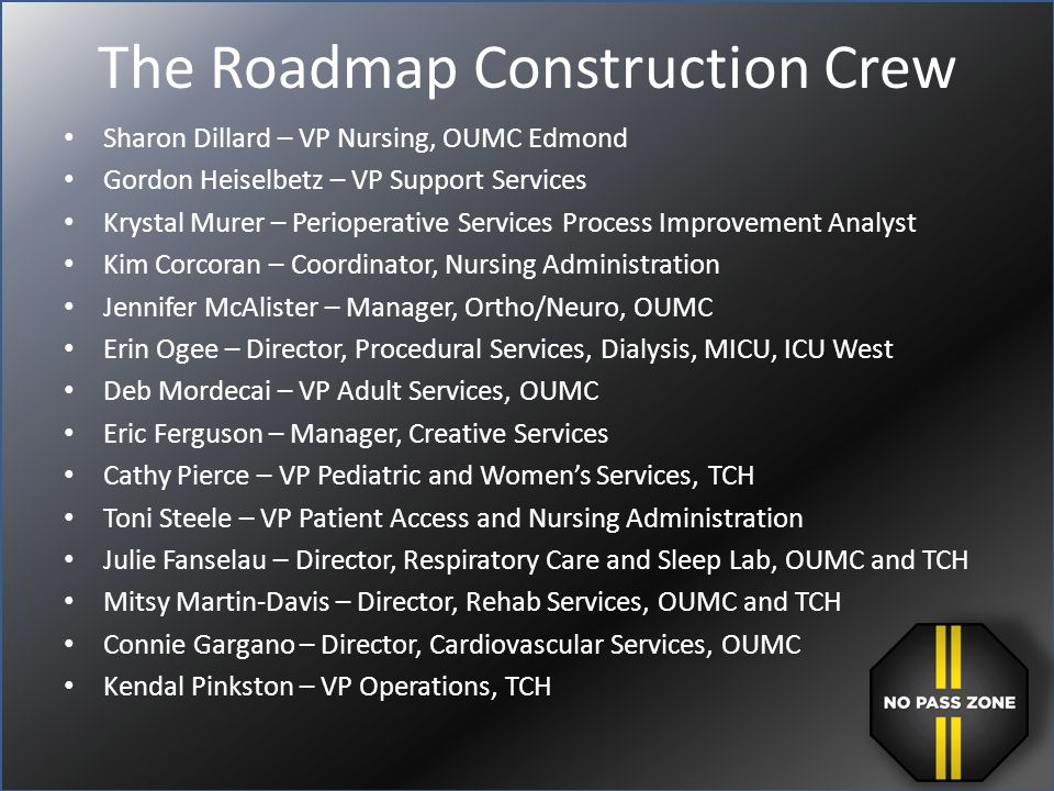 The Roadmap Construction Crew
