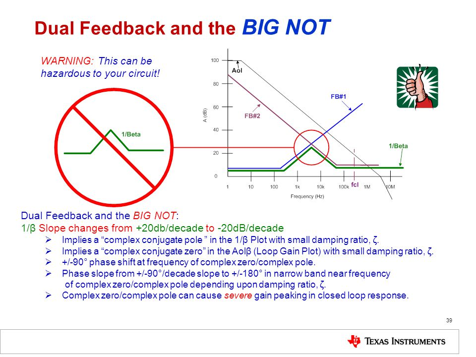Dual Feedback and the BIG NOT