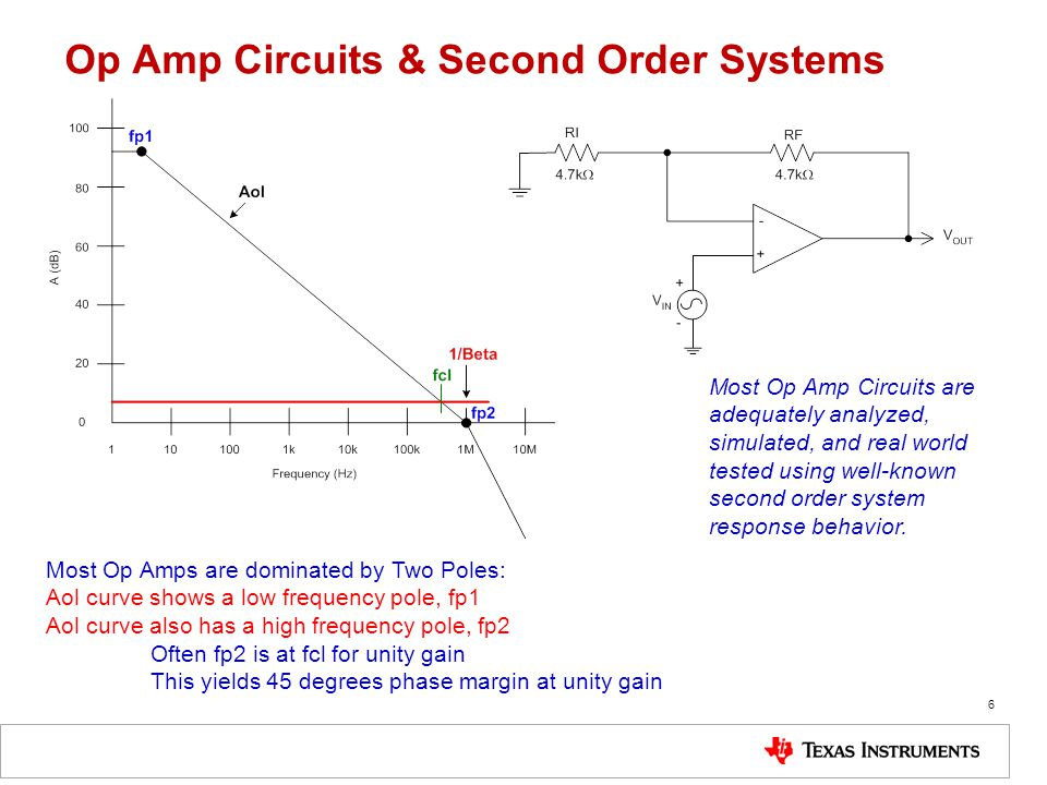 Op Amp Circuits & Second Order Systems