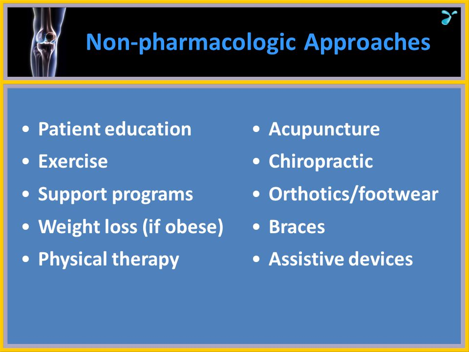 Non-pharmacologic Approaches