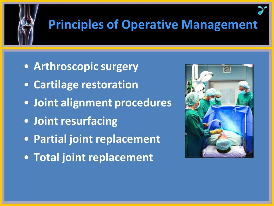 Principles of Operative Management