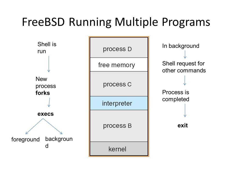 FreeBSD Running Multiple Programs