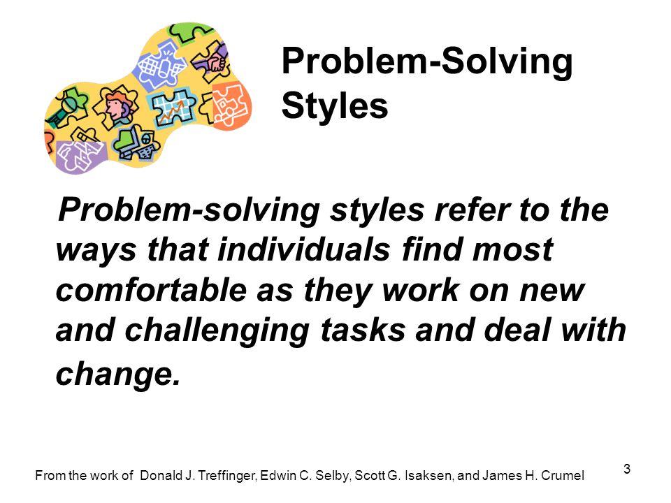 Problem-Solving Styles