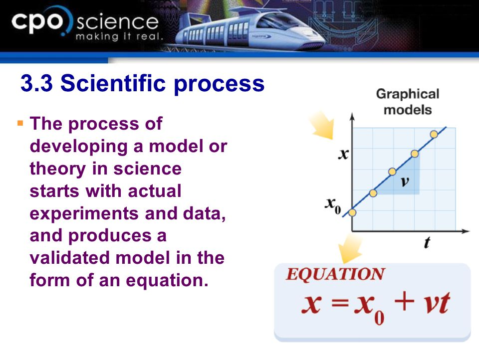 3.3 Scientific process