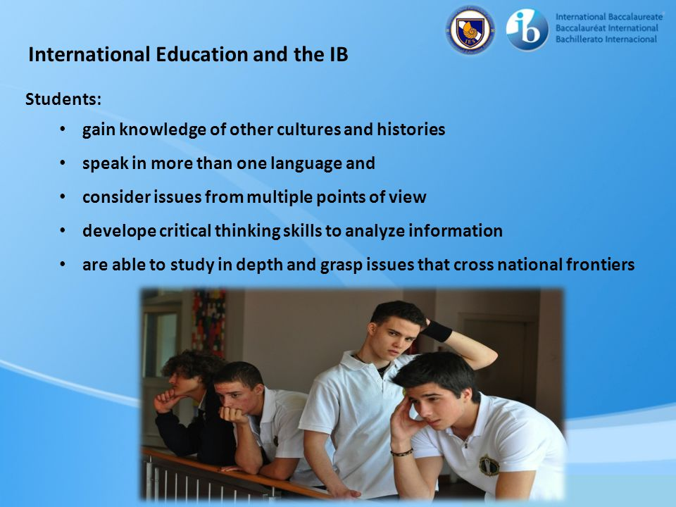 International Education and the IB