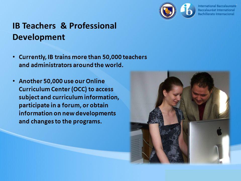 IB Teachers & Professional Development