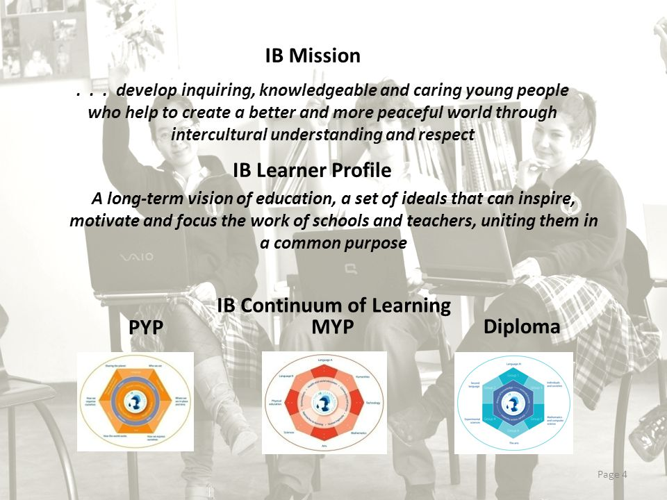 IB Continuum of Learning