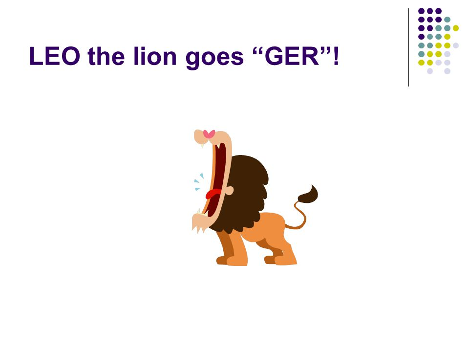 LEO the lion goes GER !