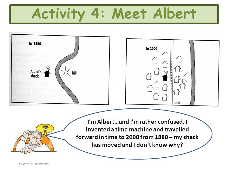 Activity 4: Meet Albert