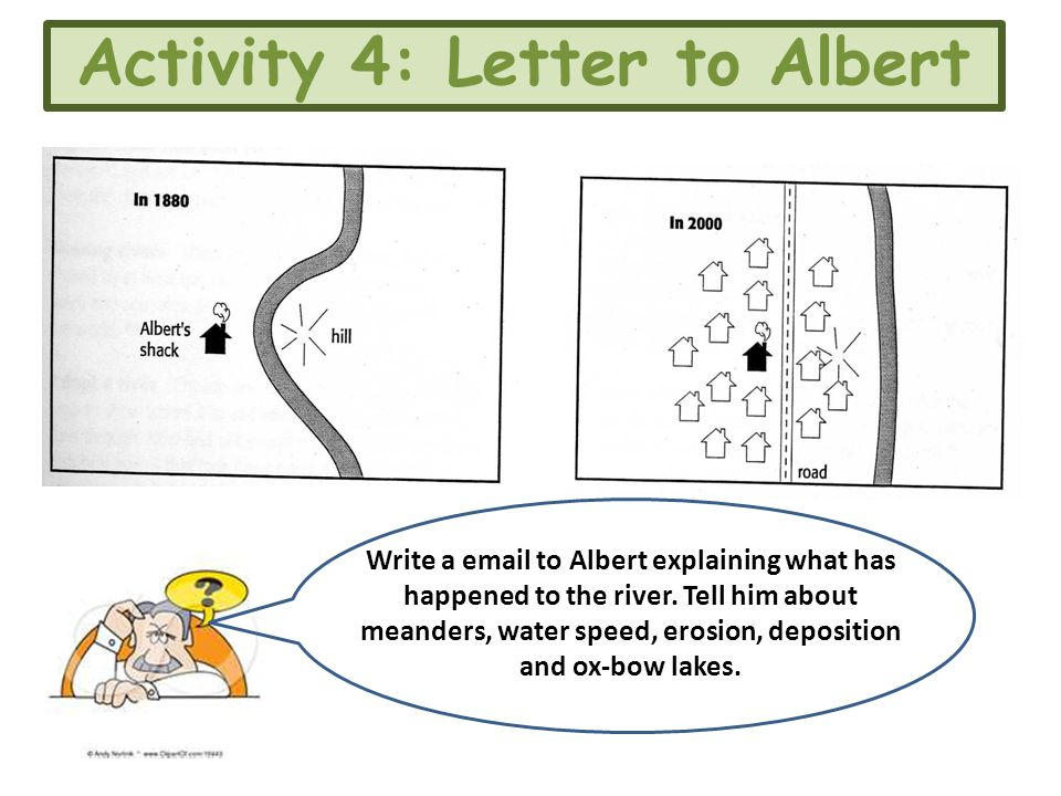 Activity 4: Letter to Albert