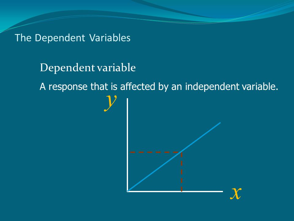 The Dependent Variables