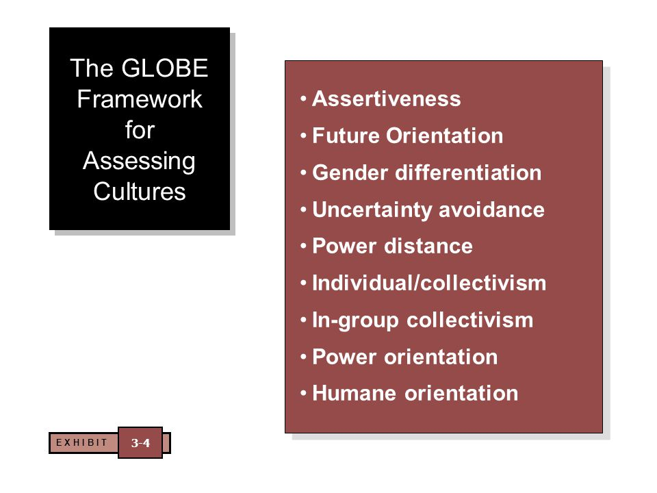 The GLOBE Framework for Assessing Cultures