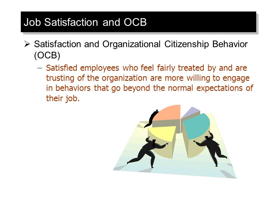 Job Satisfaction and OCB