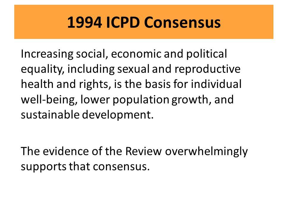 1994 ICPD Consensus