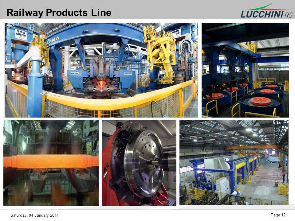 Railway Products Line Saturday, 25 March 2017