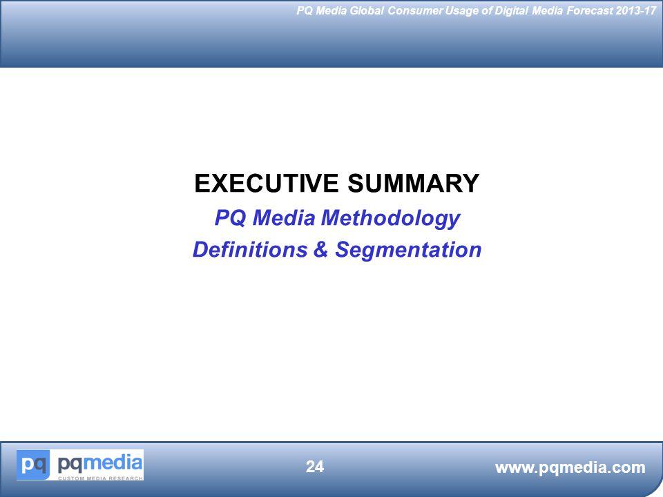 Definitions & Segmentation