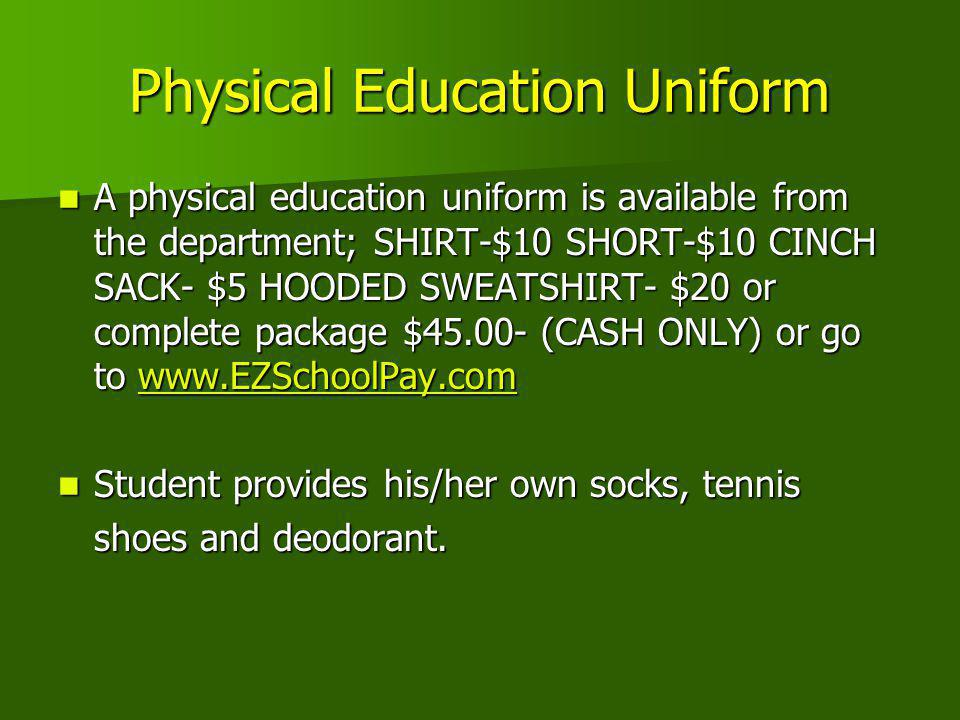 Physical Education Uniform