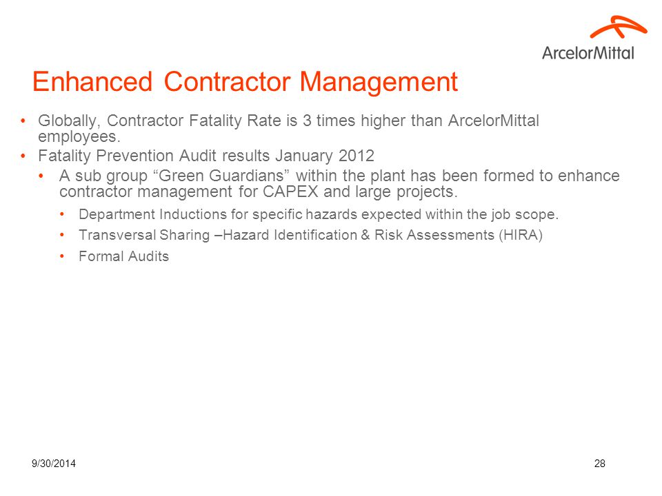 Enhanced Contractor Management