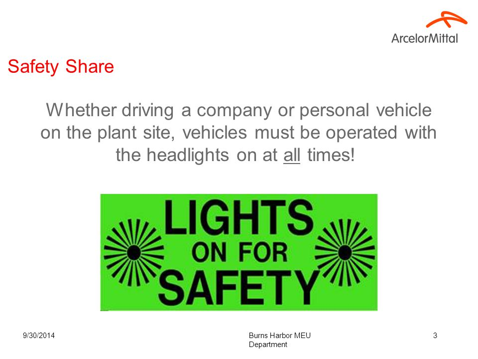 Objective Heighten Safety awareness with all on-site contractors and suppliers.