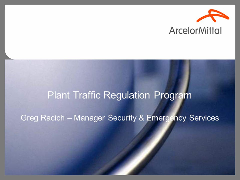 Program Features Traffic Program has been formalized