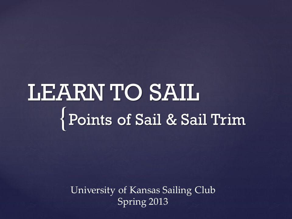 Points of Sail & Sail Trim