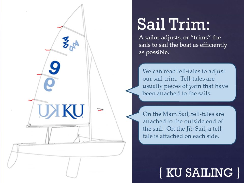 Sail Trim: { KU SAILING }