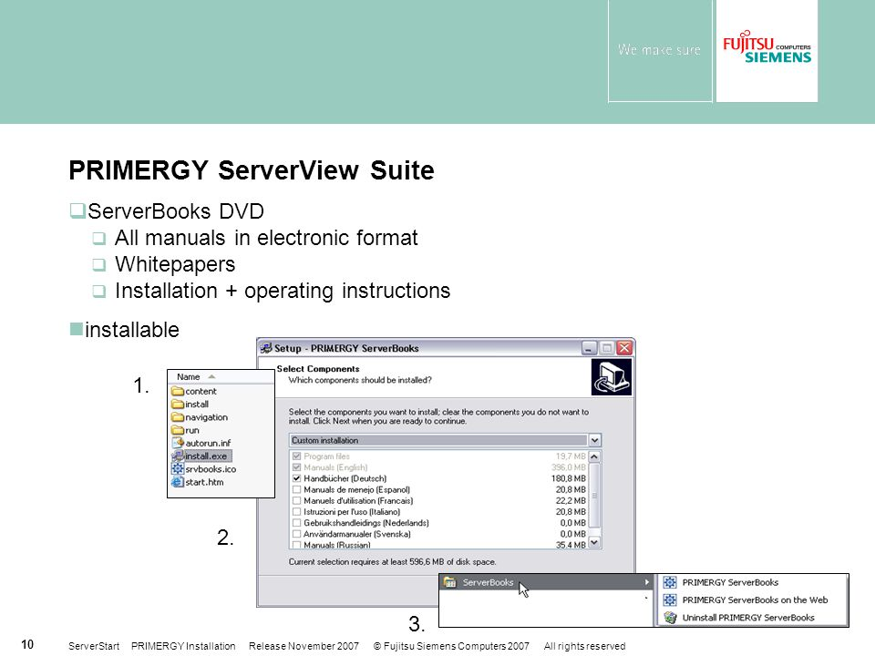 PRIMERGY ServerView Suite