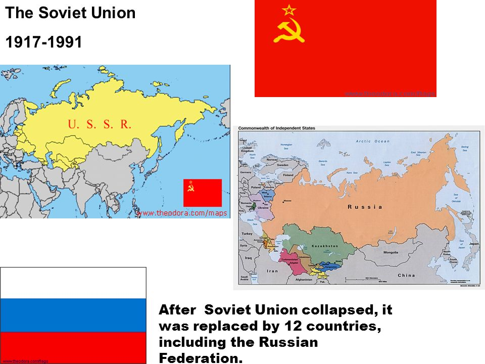The Soviet Union 1917-1991.