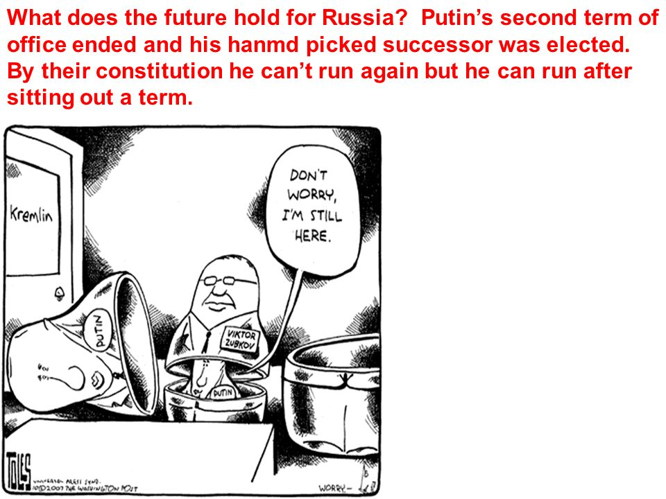 What does the future hold for Russia