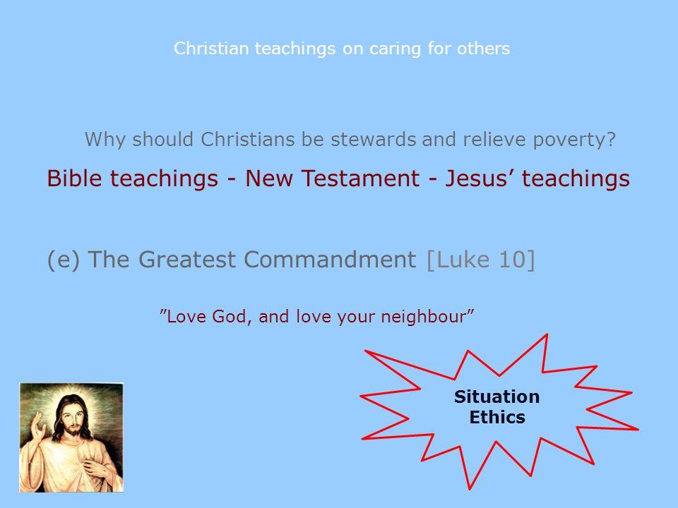 love your neighbour essay teachings jesus
