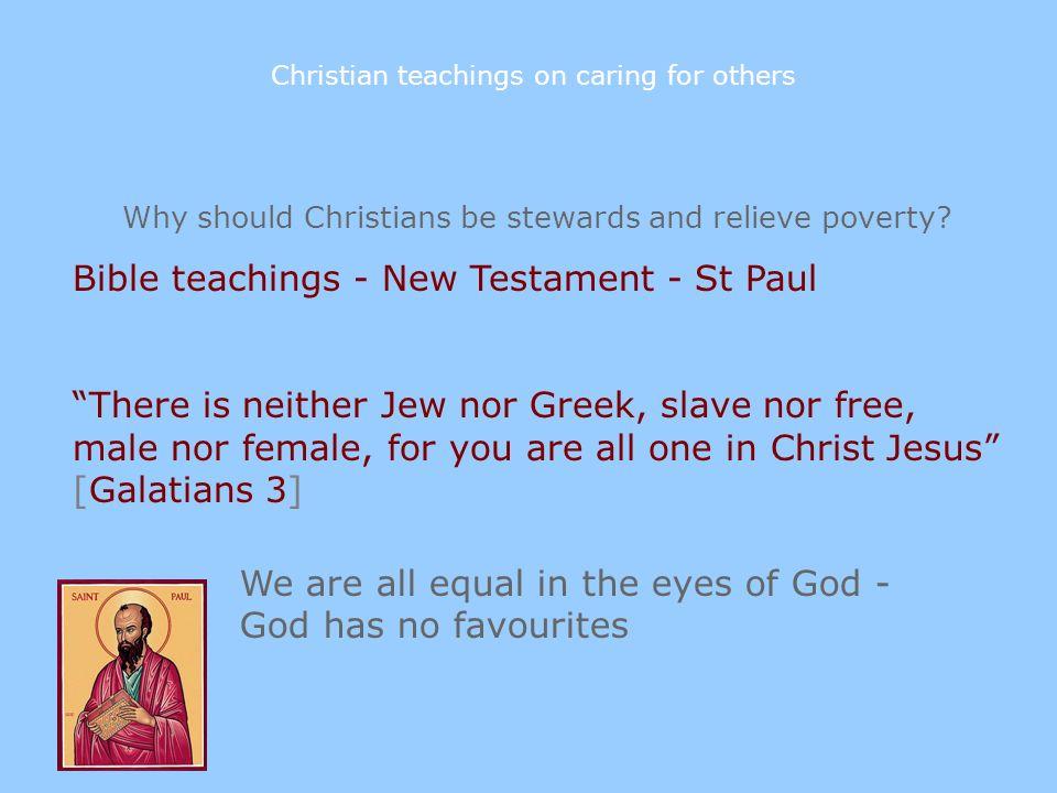 Bible teachings - New Testament - St Paul