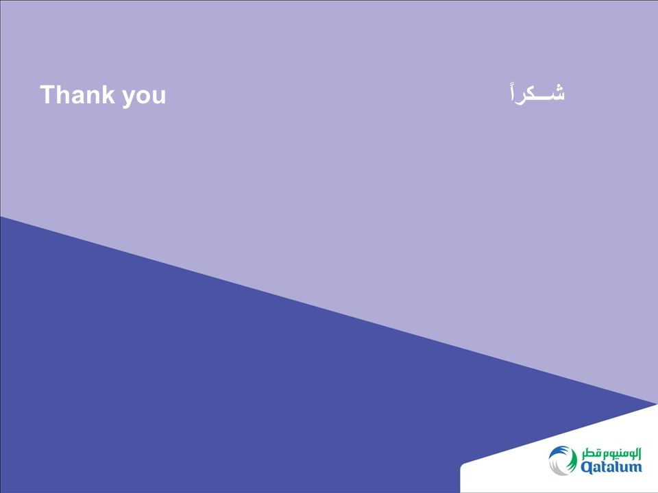 Thank you شـــكراً