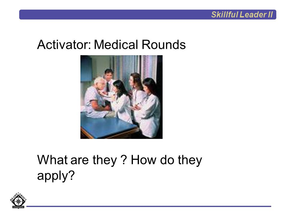 Activator: Medical Rounds