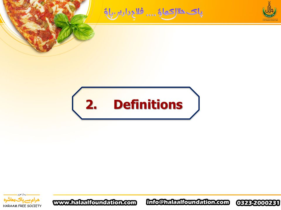 2. Definitions