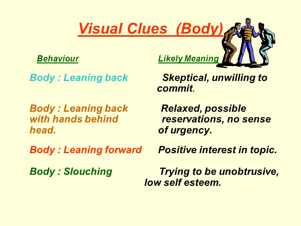 Visual Clues (Body)