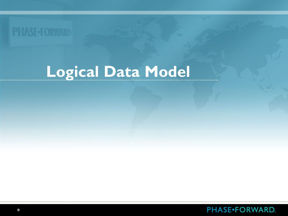 Logical Data Model ……………………………………………………………………………………………………………………….. 9
