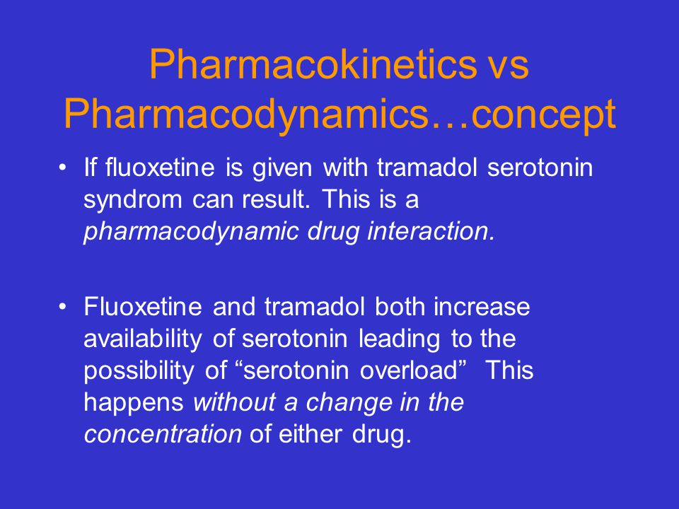 Pharmacokinetics vs Pharmacodynamics…concept