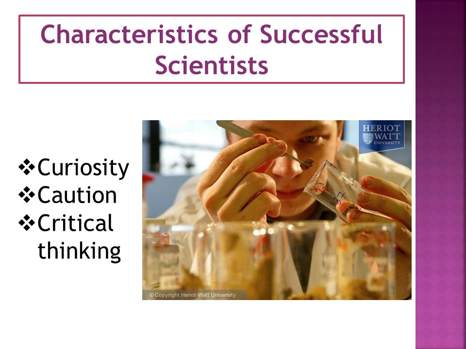 Characteristics of Successful
